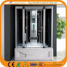 Cabine de duche de vapor ABS com banheira (ADL-8808)