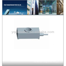 Elevator door device load measuring controller load cell