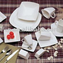 Square ceramic tableware