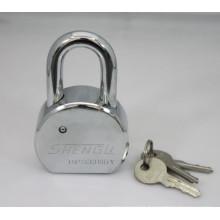 Round Steel Flat Keys Padlock