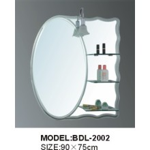 5mm Thickness Glass Silver Bathroom Mirror (BDL-2002)