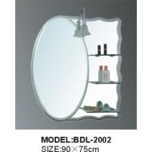 Espelho de banheiro espelho de espessura de espessura de 5 mm (BDL-2002)