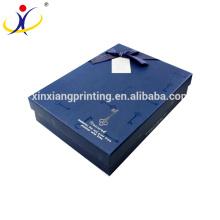 ¡Color modificado para requisitos particulares! Camisas de empaquetado de la camisa y de la ropa de la alta calidad Cajas de papel del regalo del negocio