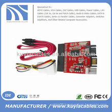 IDE TO SATA HDD CD DVD Converter Adapter Cable