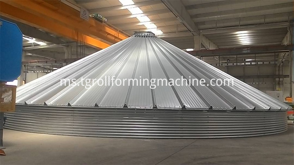 Silo Roof Machine