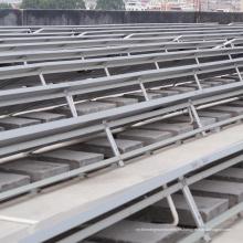 Off Grid 200KW Sistema de montaje del panel solar del techo de lastre