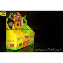 Petite boîte de présentation de papier de magasins spéciaux, boîte de présentation de PDQ de compteur, PDQ (B et C-D060)