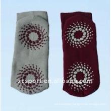 cotton knitted sweat anti-slip socks