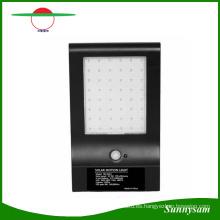 Nueva Llegada 850 Lúmenes 48 LED Solar Powered LED Sensor de Movimiento Lámpara de Jardín Al Aire Libre Jardín Calle Lámpara