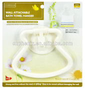 Wall Strong Suction Absorption ABS bath towel holder bathroom hanger