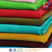Dyed corduroy fabric for garment