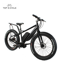 TOP Neue Stil Bafang 750 Watt Mid Drive Motor Fett Reifen Schnee Elektrische fahrrad 2017