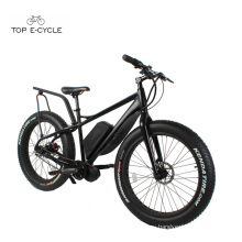 TOP New Style Bafang 750W Mid Drive Motor Fat Tire Snow Electric bike 2017
