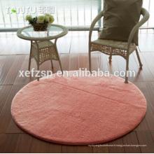 tapis de soie fabriqué par machine lavable de microfiber de polyester