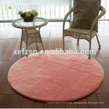 polyester microfiber washable machine made silk carpet