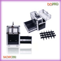Krokodil PVC und Acryl Vanity Box Easy Carry Nail Beauty Box (SACMC092)
