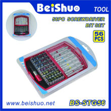Factory Supply Precision Screwdriver Bit Set with Double End Bits