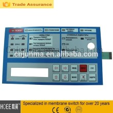High Quality Customized Waterproof Membrane Switch with LEDS