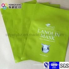 Laminated 3-Side Sealing Plastic Packaging Mask Bag