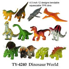 Brinquedo engraçado do dinossauro engraçado do mundo