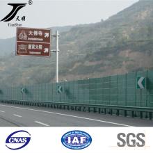 Barrera acústica para las instalaciones de tráfico