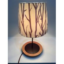 Table lamp with branch pattern