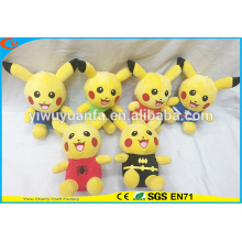 Hot Selling Fashionable Style Pokemon Go Plush Toys Cute Stuffed Pikachu Series Doll for Kids