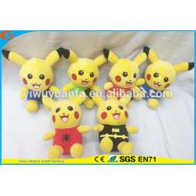 Hot Selling Fashionable Style Pokemon Go Plush Toys Cute Stuffed Pikachu Series Doll for Kids