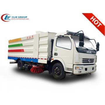 2019 New Dongfeng 8cbm camion balayeuse aspirante de rue