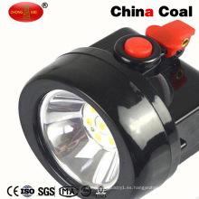 Kl4.5lm Wireless LED Carbón Miner's Lanlight