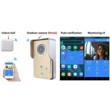 Smart wifi enabled video doorbell system