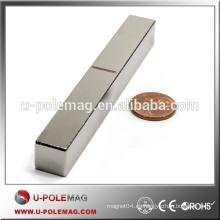 Ventas calientes N45 Neodymium NdFeB Rare Earth Bar Imanes