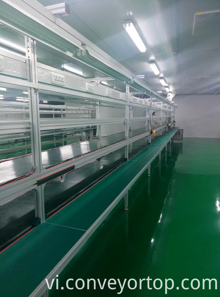 Electric Iron Conveyor Belt Line