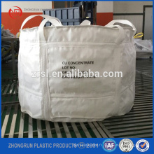 Ton sac, T-bag, sacs jumbo PP 1mt stockage bois de chauffage / charbon, 1m sac