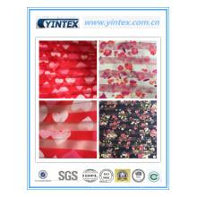 100% Poly Organza Streifen gedruckt 20d * 75D