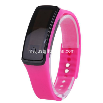Promosi silikon Led Watch kalis air