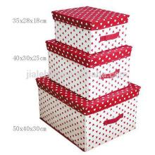 Home Folding Storage Box Korea style foldable drawer box