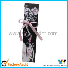 custom hair extension paper box with logo
