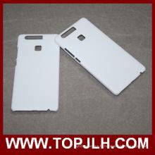 Photo impression Sublimation affaire téléphone blanc Case pour Huawei Ascend P9