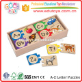 Juguetes de madera buena Venta directa DIY juguete de coincidencia Juguete de madera educativa Juegos