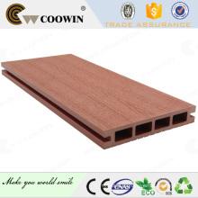 Balcón exterior suelo / patio plástico de madera decking compuesto