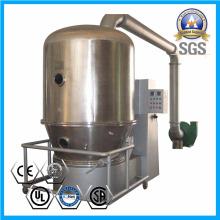 Secador de leito fluidizado para grânulos dispersáveis em água de secagem