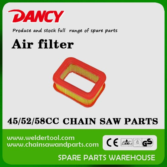 45cc 52cc 58cc chainsaw parts air filter