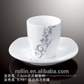 bright colored tea cups and saucers,high grade quality cup and saucer,royal cup and saucer