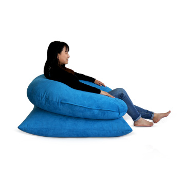 Small Size Square Bean Bag Cover Puff Beanbag