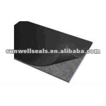 Резиновый лист, усиленный тканью