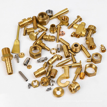 Customized High Precision OEM Cheap Stainless Steel CNC Brass Machining Parts Aluminum CNC Lathe Machine Hardware Brass Part