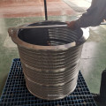 Outflow Pressure Screen Stainless Steel 316 Basket for Paper Pulp Screening Processing