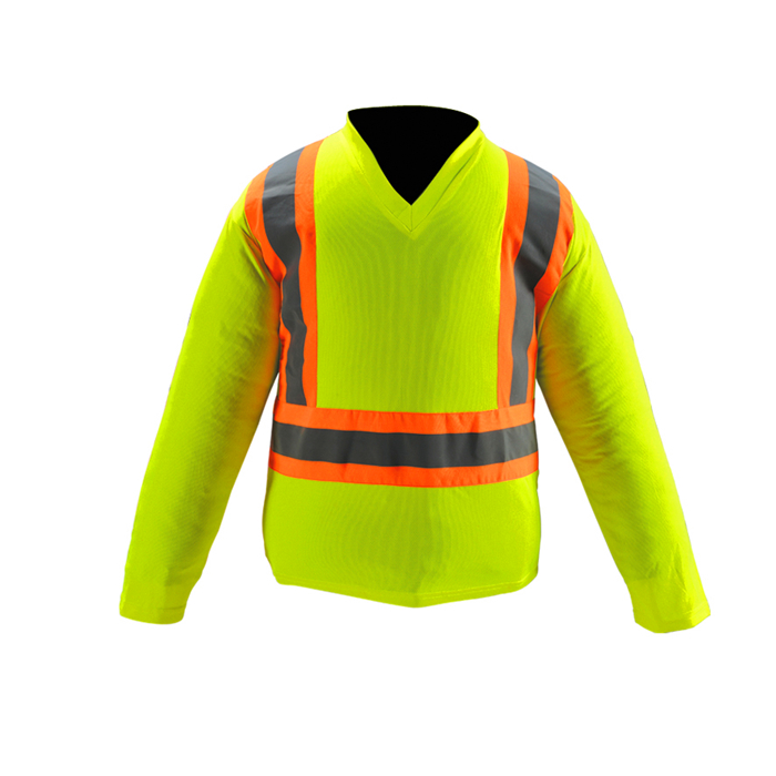Hi Vis Mesh Lined Fleece Jacket