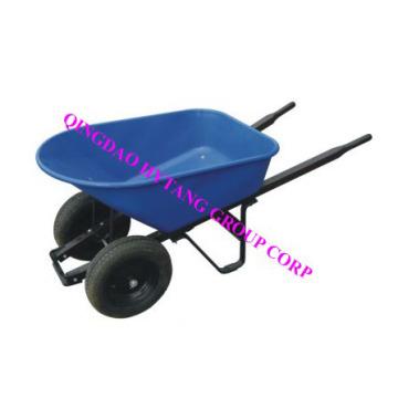 120 Л пластиковый лоток 16 «* 4» колеса деревянные обрабатывать тачку